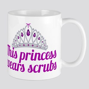 Princess Wears Scrubs Mug