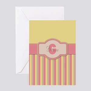 Stripes2015G2 Greeting Card