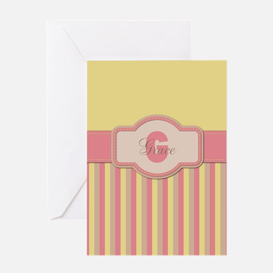 Stripes2015G2 Greeting Card