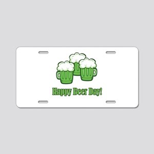 Happy Green Beer Day! Aluminum License Plate