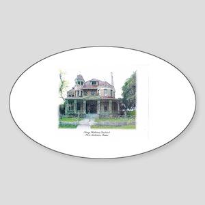Southern Victorian by jsk Sticker (Oval)