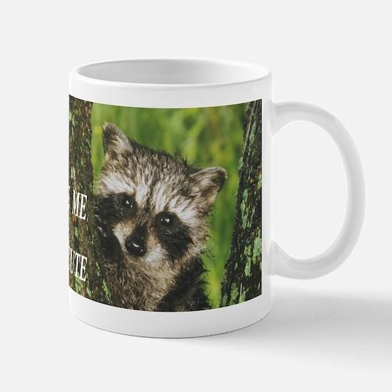 Baby Raccoon Mugs