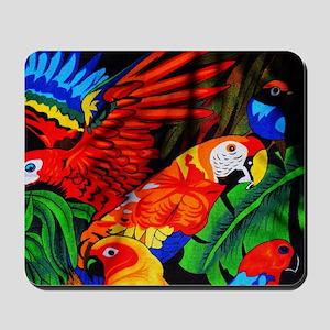 Parrot Paradise Mousepad