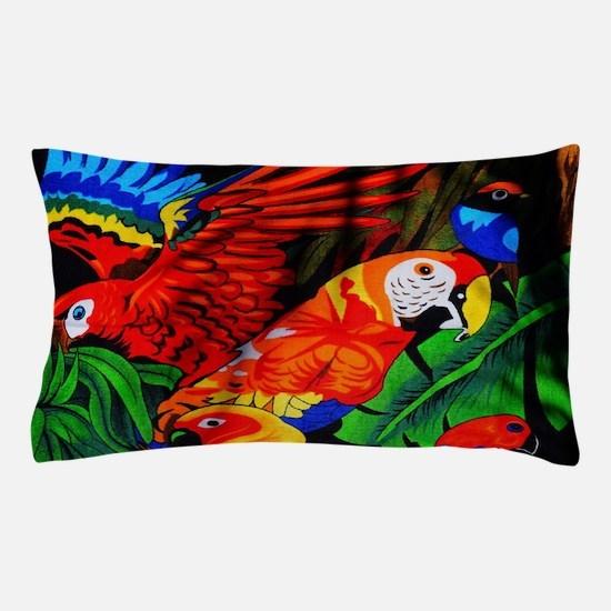 Parrot Paradise Pillow Case