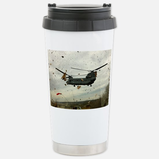 Caught in the storm Stainless Steel Travel Mug
