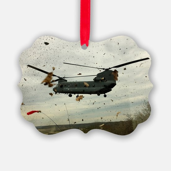 Caught in the storm Ornament