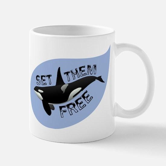Cute Whales rights Mug