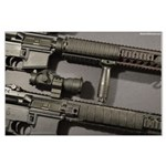 M16a4 And Kac Sr-15 Large Poster