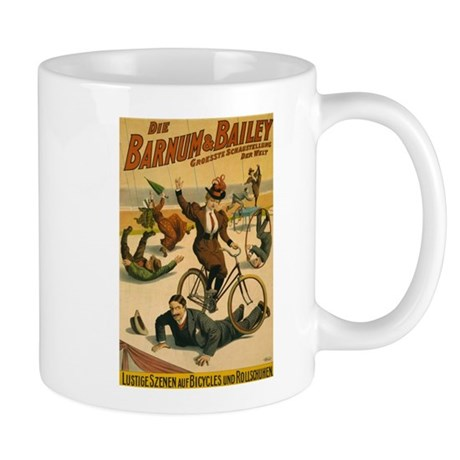BARNUM AND BAILEY BICYCLE coffee cup