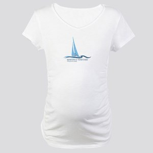 Martha's Vineyard. Maternity T-Shirt