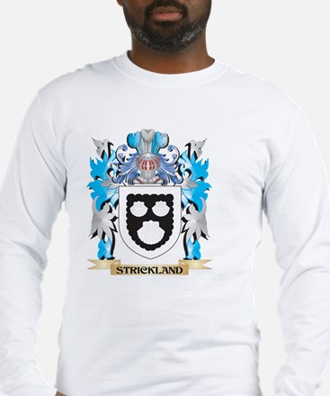 Strickland Coat of Arms - Fami Long Sleeve T-Shirt