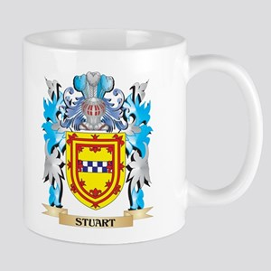 Stuart Coat of Arms - Family Crest Mugs