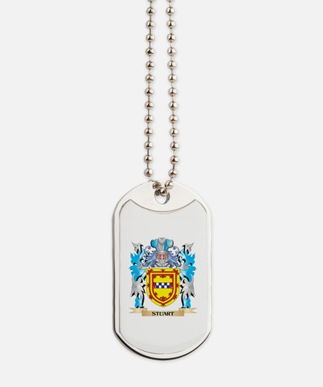Stuart Coat of Arms - Family Crest Dog Tags