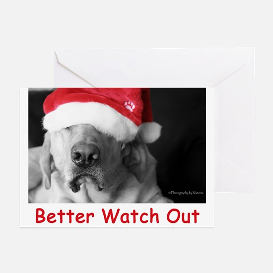 Better Watch Out Greeting Cards (Pk of 20)