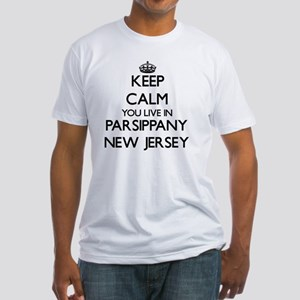 Keep calm you live in Parsippany New Jerse T-Shirt