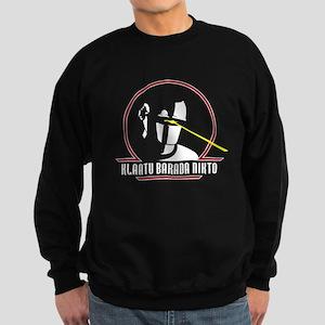 Gort Klaatu Barada Nikto Sweatshirt (dark)