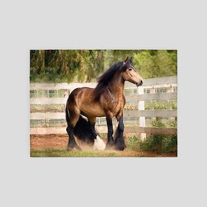 Gypsy Horse 5'x7'Area Rug