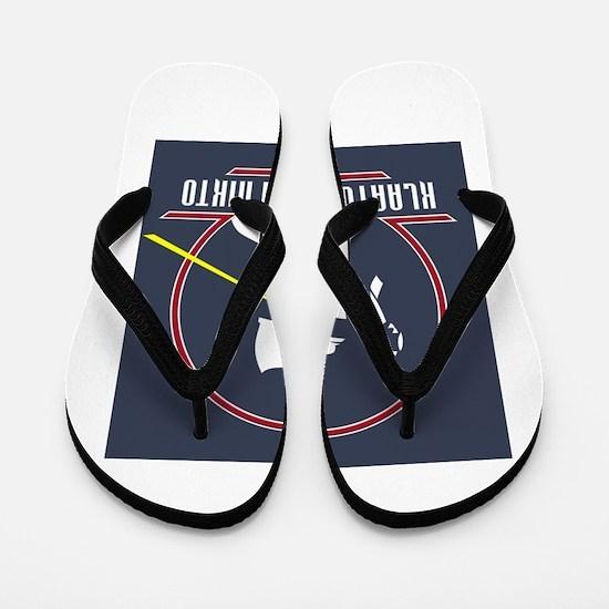 Gort Klaatu Barada Nikto Flip Flops