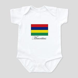 Mauritius - Flag Infant Bodysuit