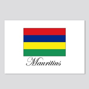 Mauritius - Flag Postcards (Package of 8)
