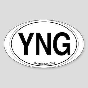 YNG Sticker (Oval)