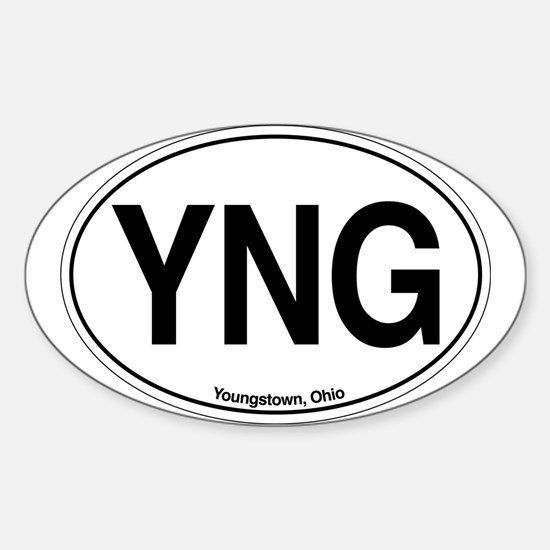 YNG Sticker (Oval)