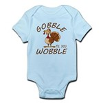 Gobble Til You Wobble Baby Light Bodysuit