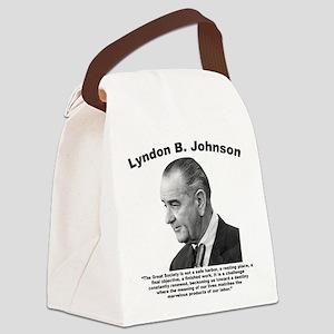 LBJ: Challenge Canvas Lunch Bag