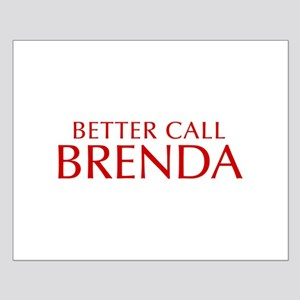 BETTER CALL BRENDA-Opt red2 550 Posters