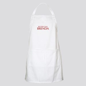 BETTER CALL BRENDA-Opt red2 550 Apron