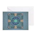 Celtic Eye of the World Greeting Card