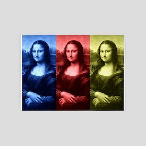 Mona Lisa Primary Colors 5'x7'Area Rug