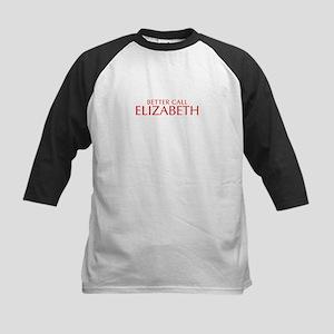 BETTER CALL ELIZABETH-Opt red2 550 Baseball Jersey