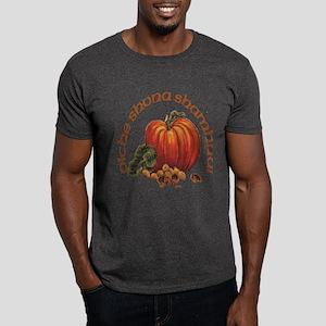 Halloween Pumpkin & Walnuts Dark T-Shirt