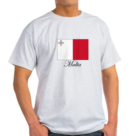 Malta - Flag Light T-Shirt