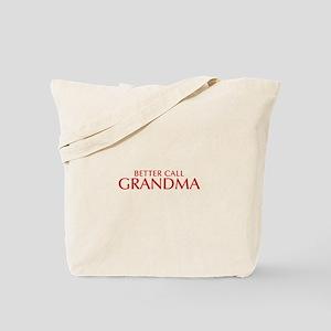 BETTER CALL Grandma-Opt red2 550 Tote Bag
