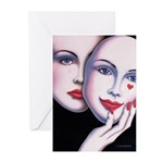 Unmasked Greeting Cards (Pk of 20)
