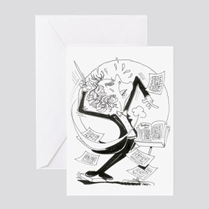 Artistry in Motion Greeting Card