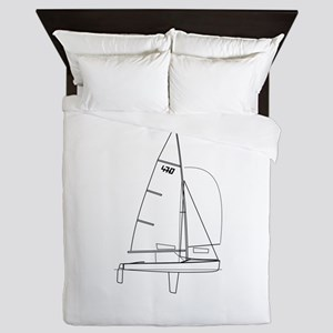 470 dinghy Queen Duvet