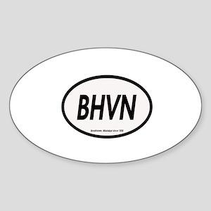 BHVN Oval Sticker