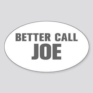 BETTER CALL JOE-Akz gray 500 Sticker