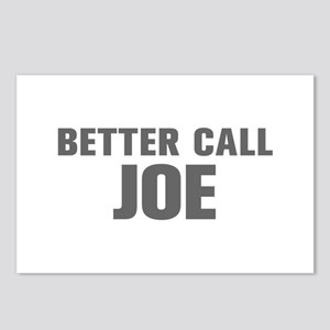 BETTER CALL JOE-Akz gray 500 Postcards (Package of