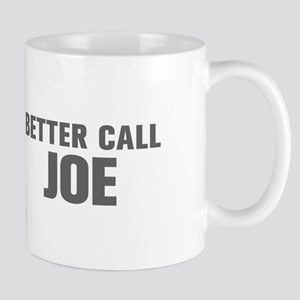 BETTER CALL JOE-Akz gray 500 Mugs