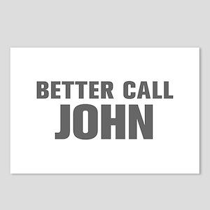 BETTER CALL JOHN-Akz gray 500 Postcards (Package o