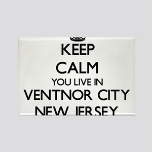Keep calm you live in Ventnor City New Jer Magnets