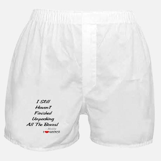 Unpacking Boxer Shorts
