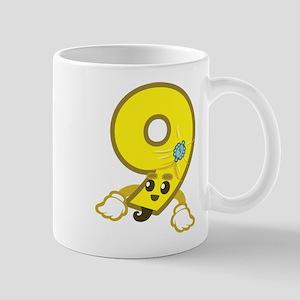 3+5=9 Mugs