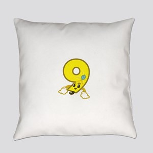 3+5=9 Everyday Pillow
