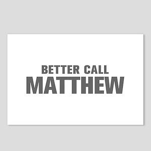 BETTER CALL MATTHEW-Akz gray 500 Postcards (Packag