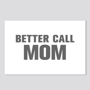 BETTER CALL Mom-Akz gray 500 Postcards (Package of